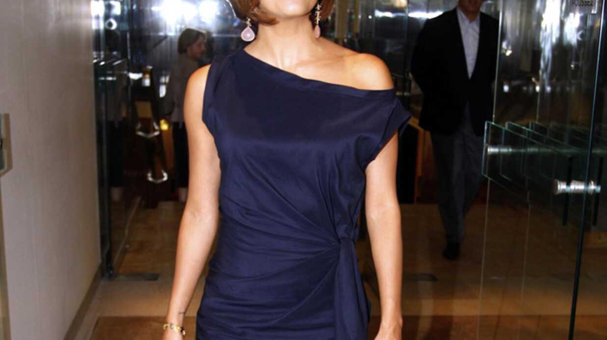 Eva Longoria à Paris pour l'enregistrement de Vivement Dimanche