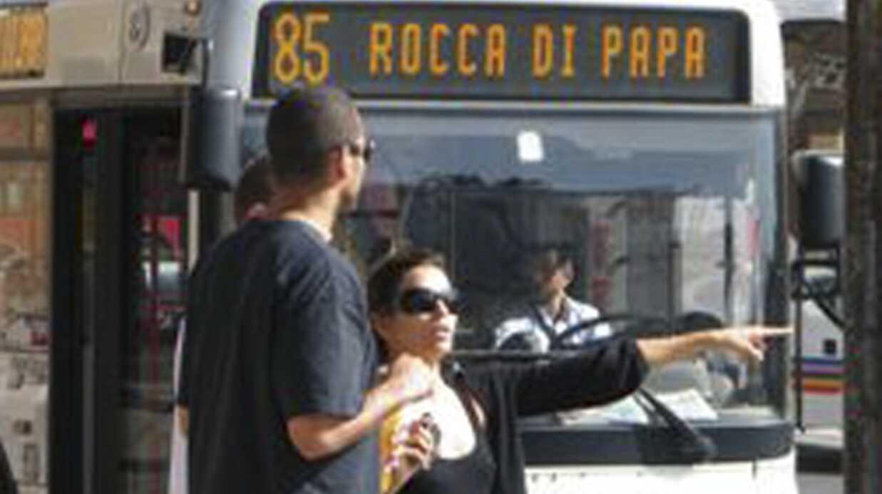 PHOTOS: Eva Longoria et Tony Parker en amoureux à Rome