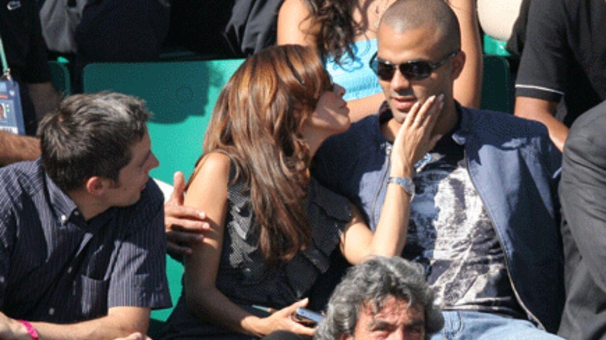 PHOTOS Eva Longoria et Tony Parker très amoureux à Roland Garros