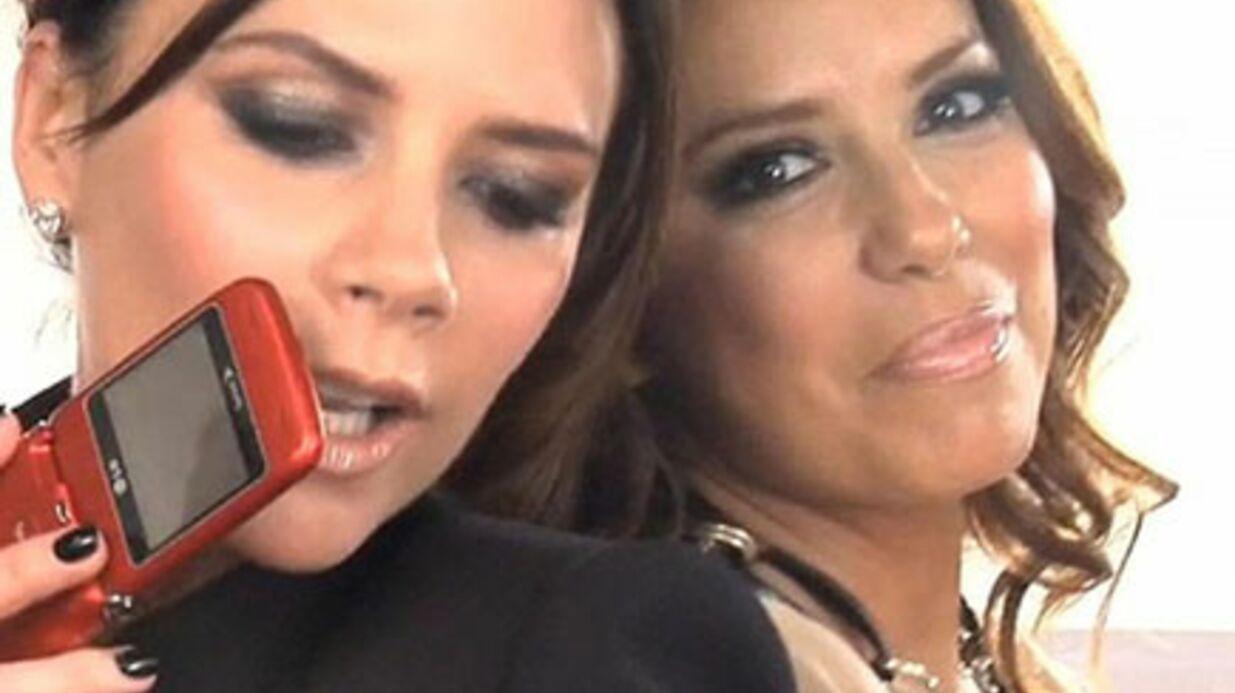VIDEO Eva Longoria et Victoria Beckham s'éclatent