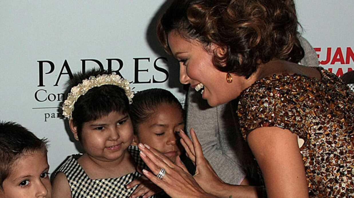 Eva Longoria soutient les enfants malade
