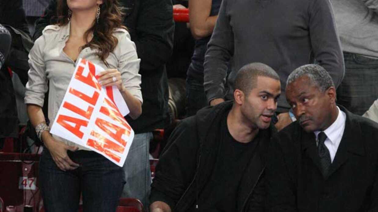 Eva Longoria et Tony Parker A fond pour Nancy!