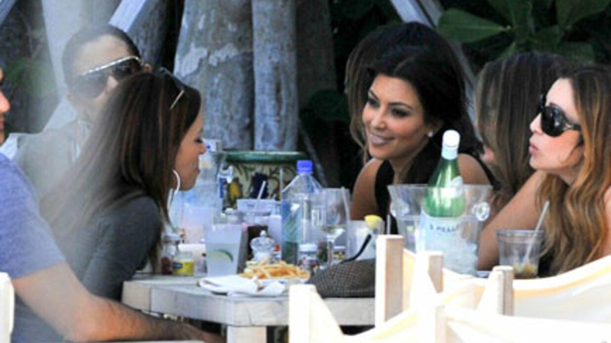 PHOTOS Eva Longoria fête son anniversaire avec Tony Parker et Kim Kardashian