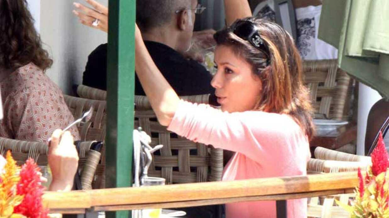 PHOTOS Eva Longoria au restaurant avec une amie