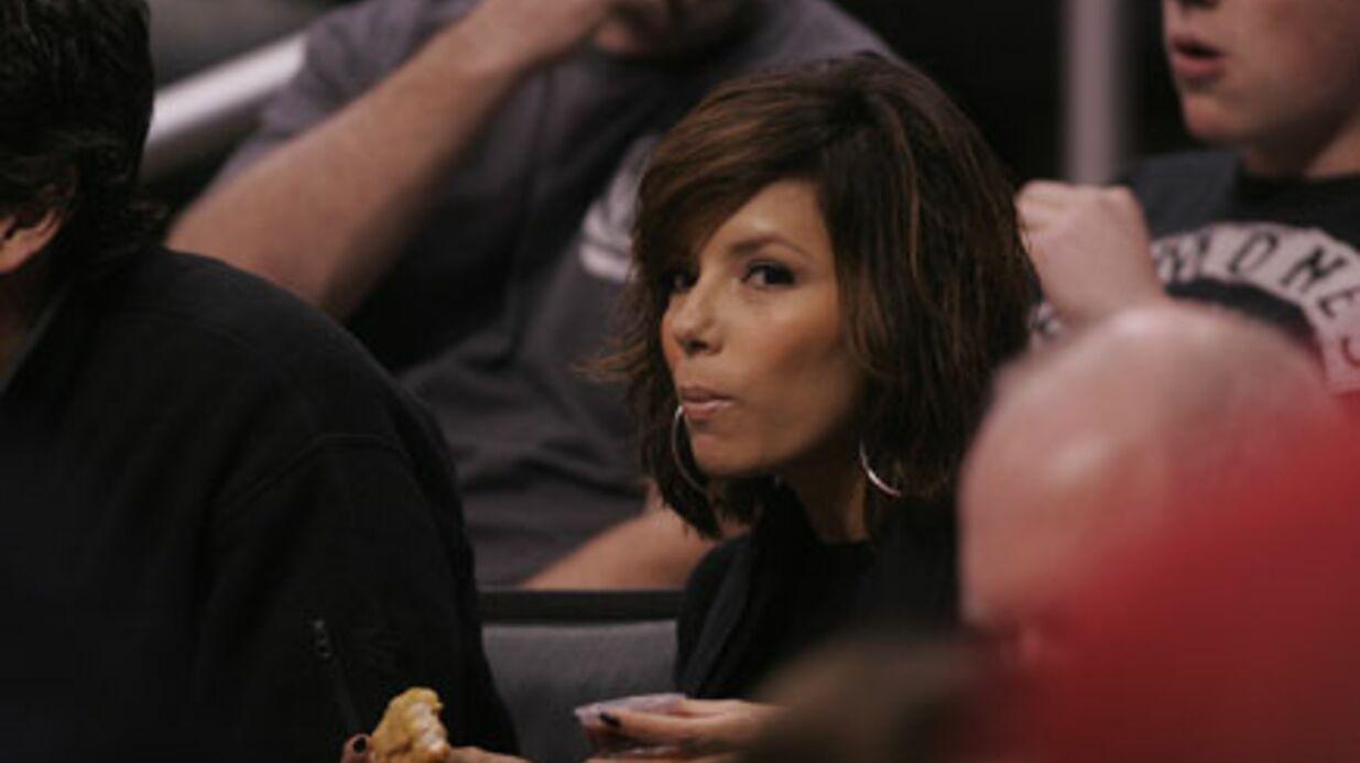 PHOTOS Eva Longoria: supporter Tony Parker, ça creuse