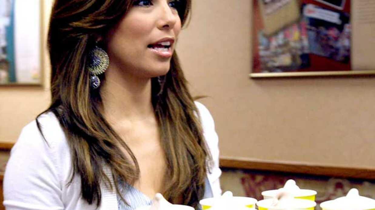 PHOTOS Eva Longoria, la plus sexy des serveuses de fast-food