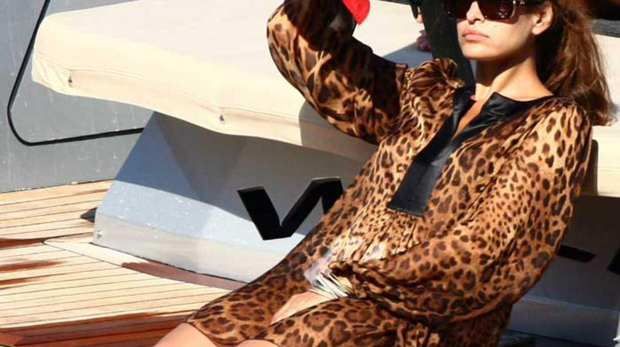 PHOTOS Eva Mendes: vacances de luxe à Portofino