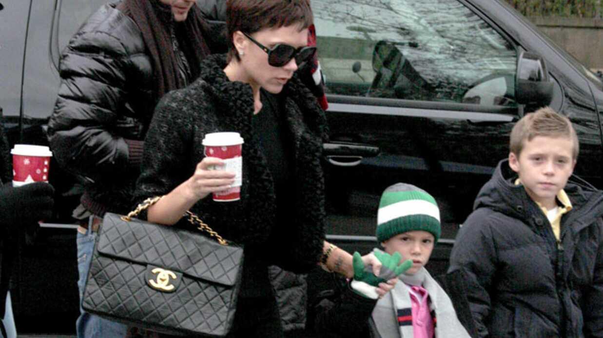 Victoria Beckham: au cirque en famille