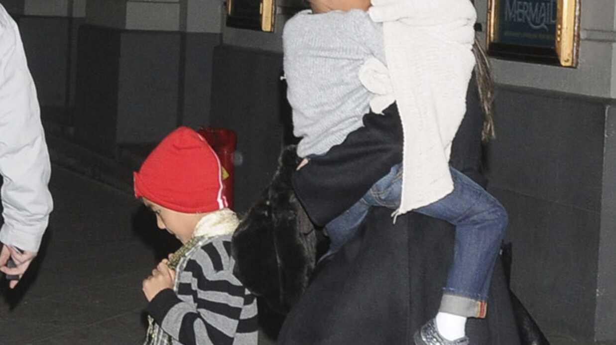 PHOTOS Les enfants de Brad Pitt et d'Angelina Jolie à Broadway