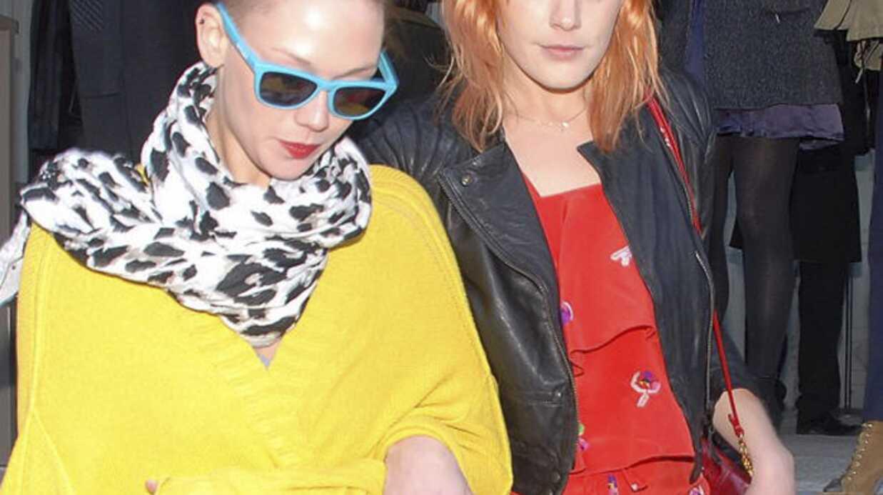 Fashion Week: les stars aux défilés Rykiel, Chanel et Dior