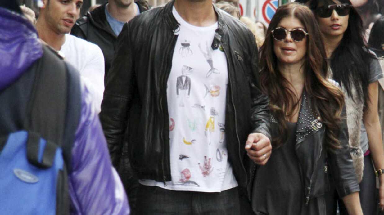 PHOTOS Fergie des Black eyes Peas et Josh Duhamel amoureux à Milan