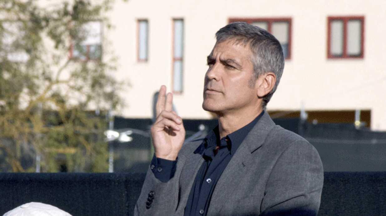 PHOTOS George Clooney à L'Aquila en plein sommet du G8