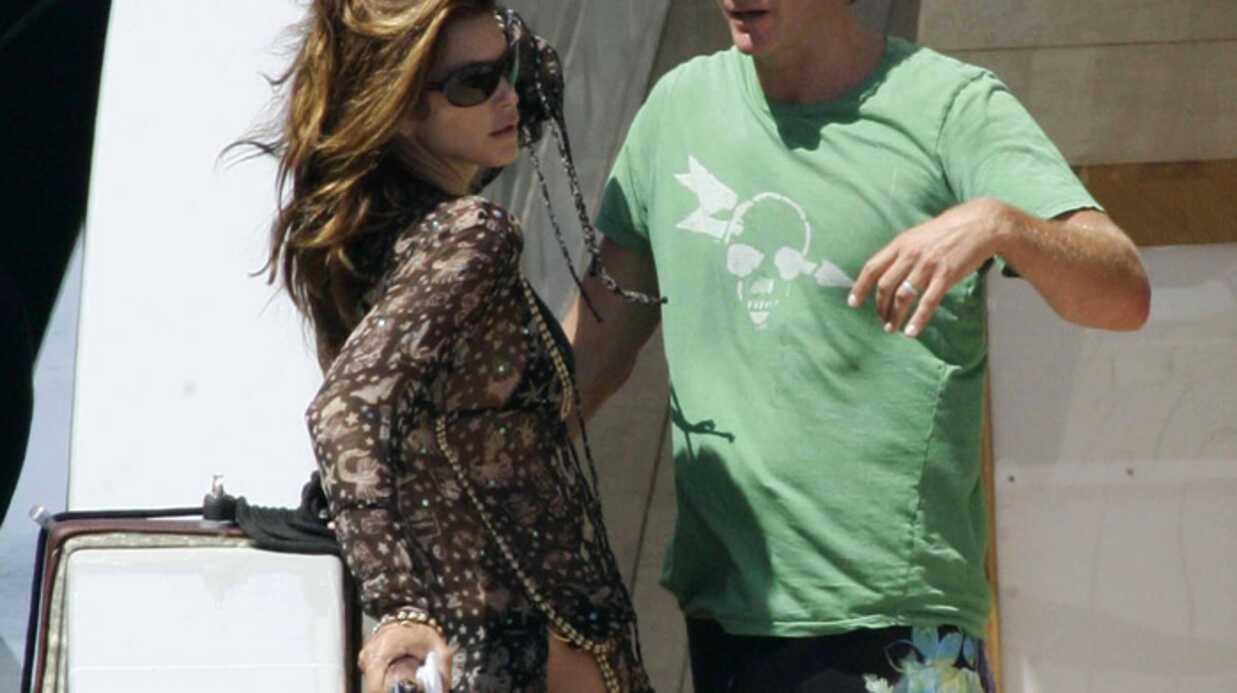 George Clooney a invité Cindy Crawford sur son Yatcht