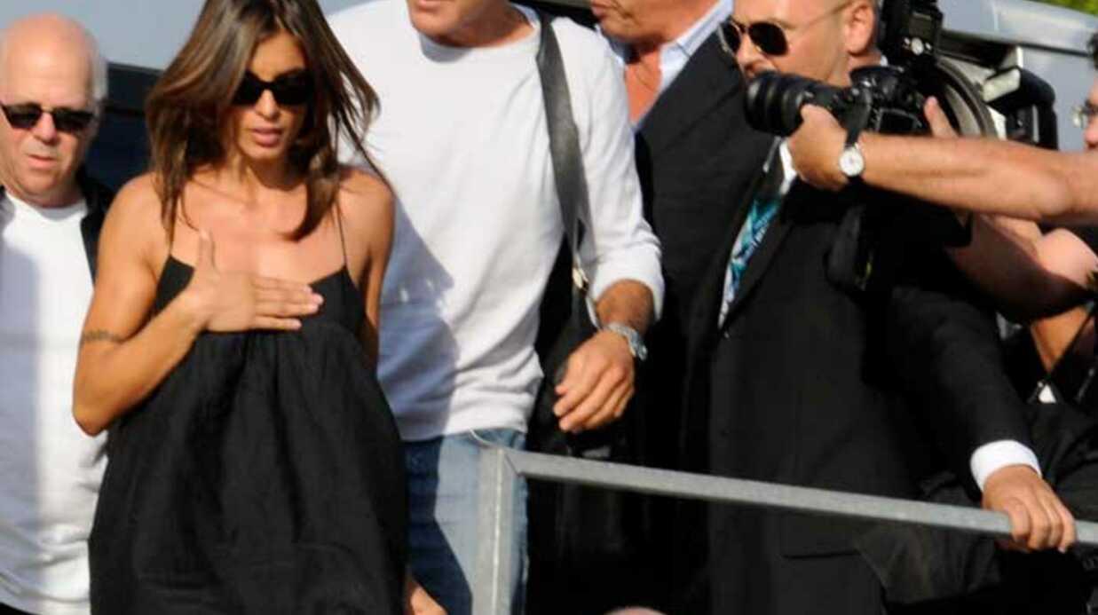 PHOTOS George Clooney et Elisabetta Canalis à Venise