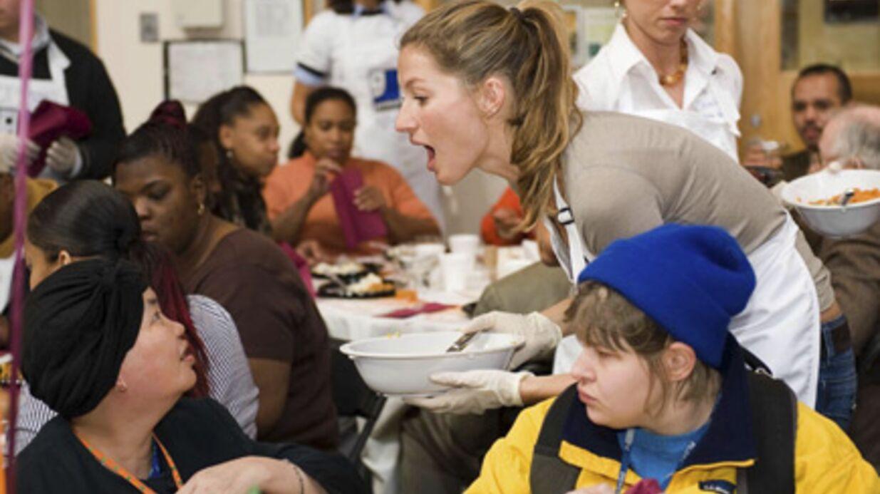 Gisèle Bündchen fête Thanksgiving avec les déher