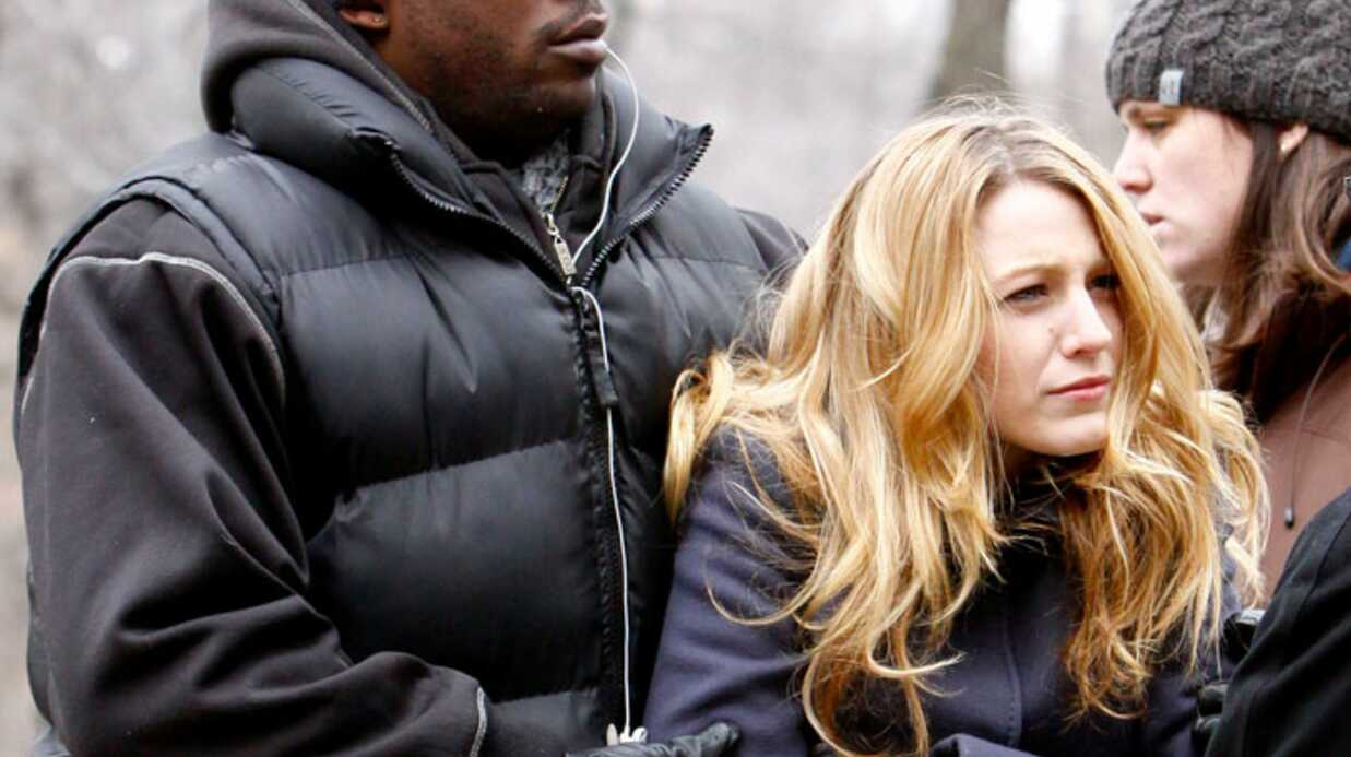 PHOTOS Coup de froid sur le tour­nage de Gossip Girl