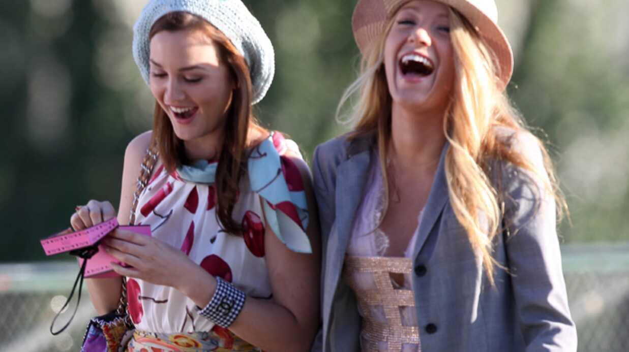 PHOTOS Gossip Girl: Blake Lively et Leighton Meester à Paris