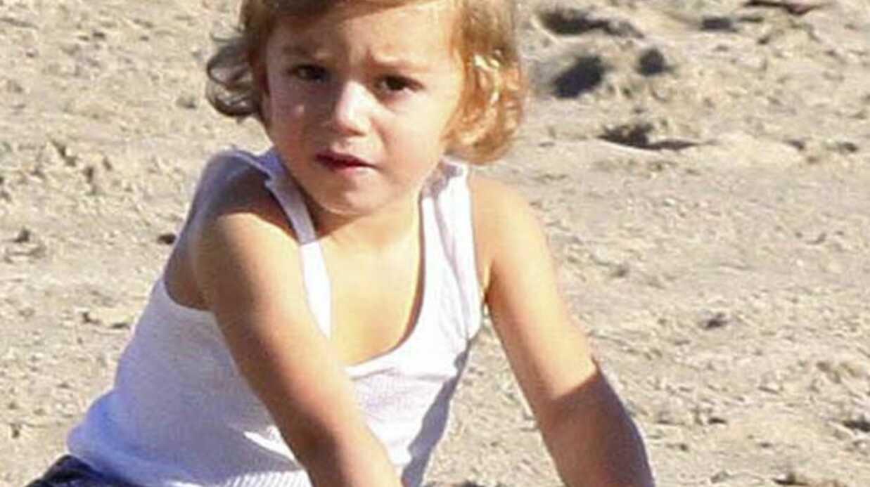 PHOTOS Gwen Stefani et ses fils Kingston et Zuma à la plage