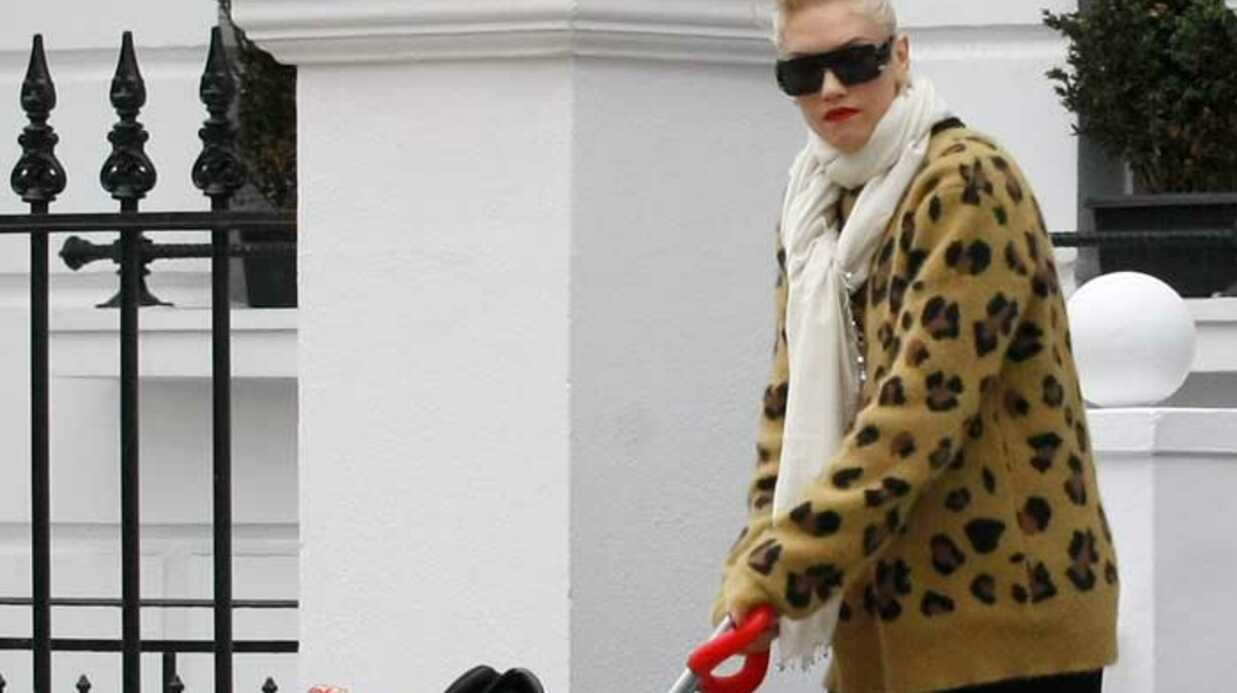 LOOK Gwen Stefani: fan de l'imprimé panthère