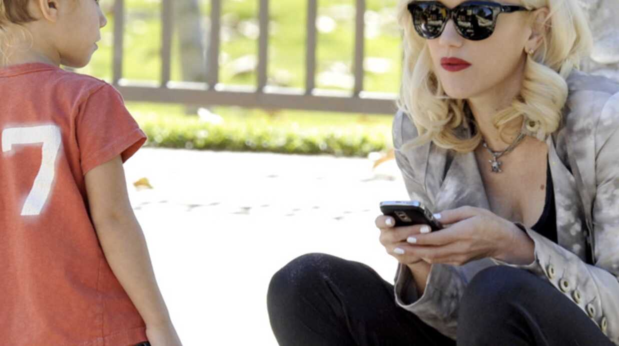PHOTOS Gwen Stefani: une maman joueuse