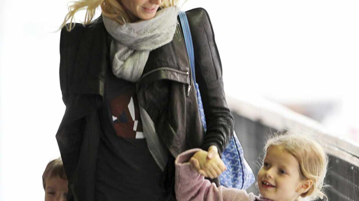 PHOTOS Gwyneth Paltrow se ressource auprès de ses enfants