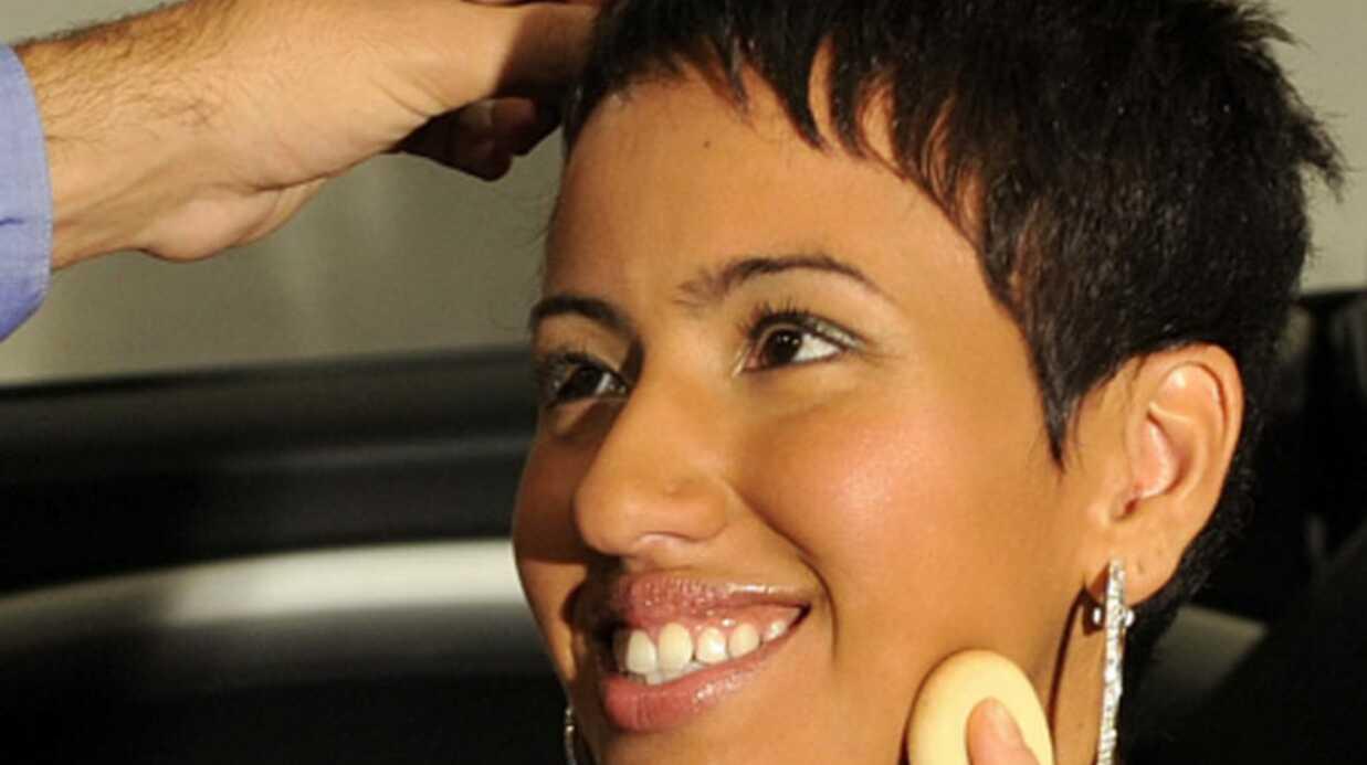 PHOTOS Maquillage à la Halle Berry