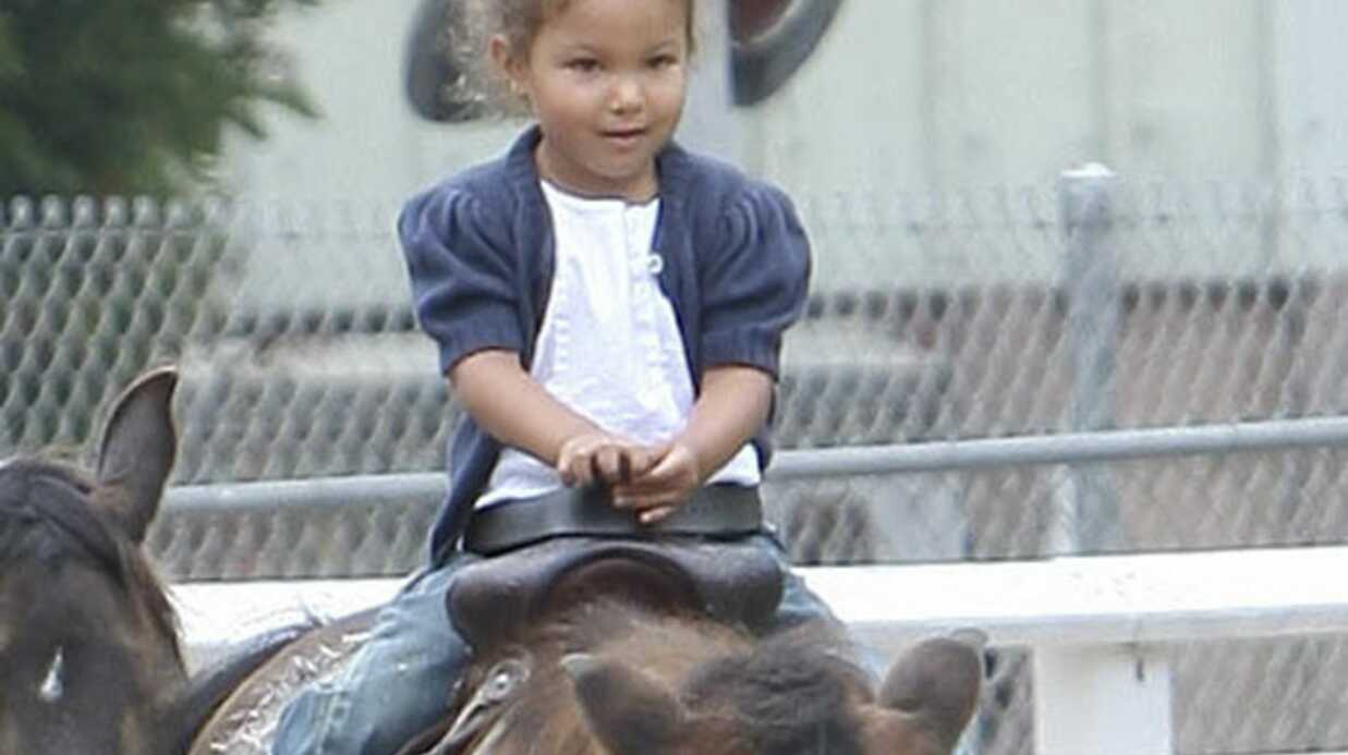 PHOTOS Halle Berry et sa fille Nahla s'éclatent