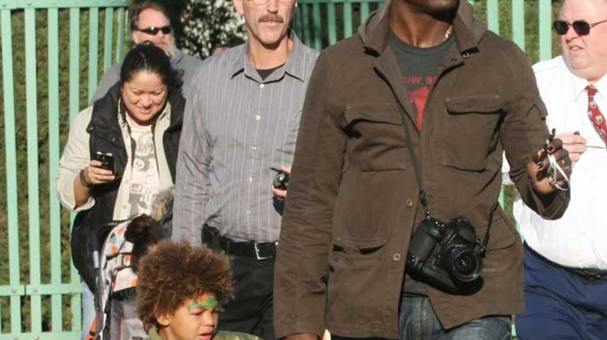 PHOTOS Seal et Heidi Klum en famille à Disneyland