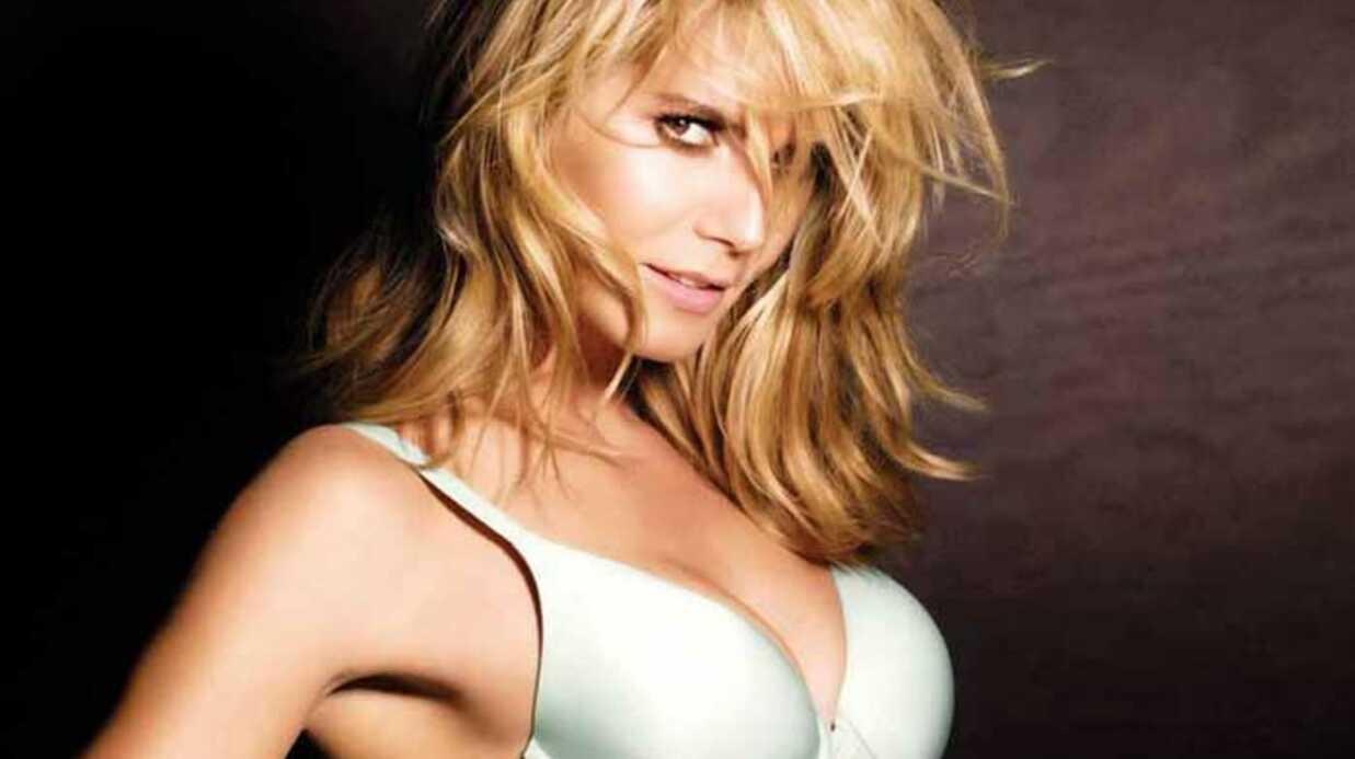 PHOTOS – Heidi Klum terriblement sexy en lingerie