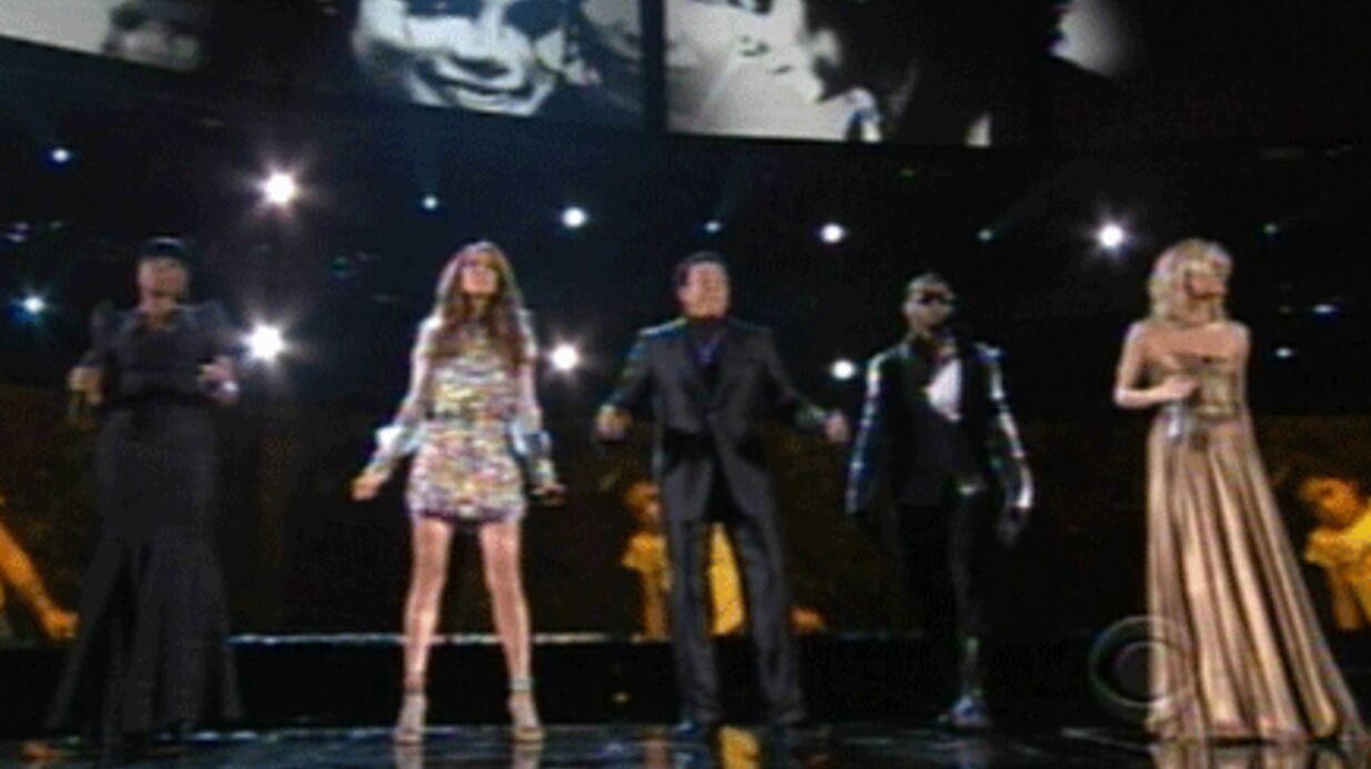 Vidéo: Céline Dion et Usher chantent pour Michael Jackson