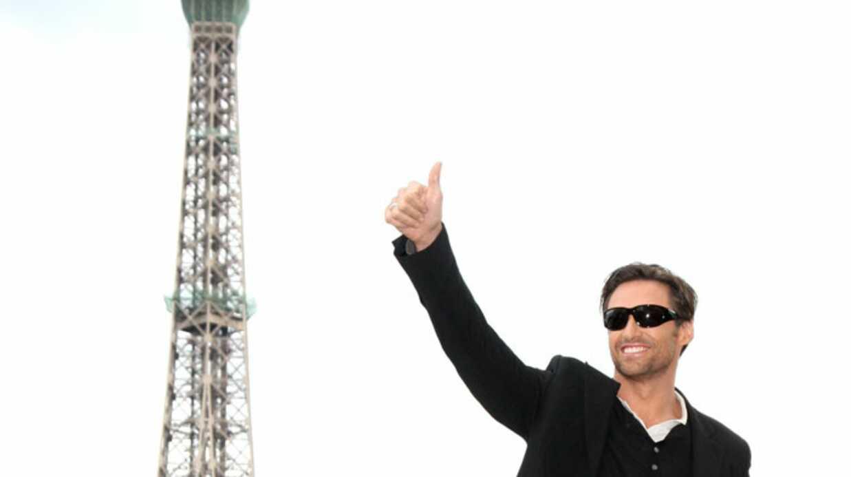 PHOTOS Hugh Jackman à Paris