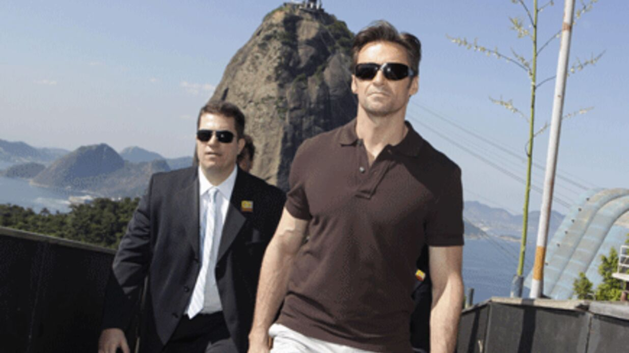 PHOTOS Wolverine: le sexy Hugh Jackman présente son film au Brésil