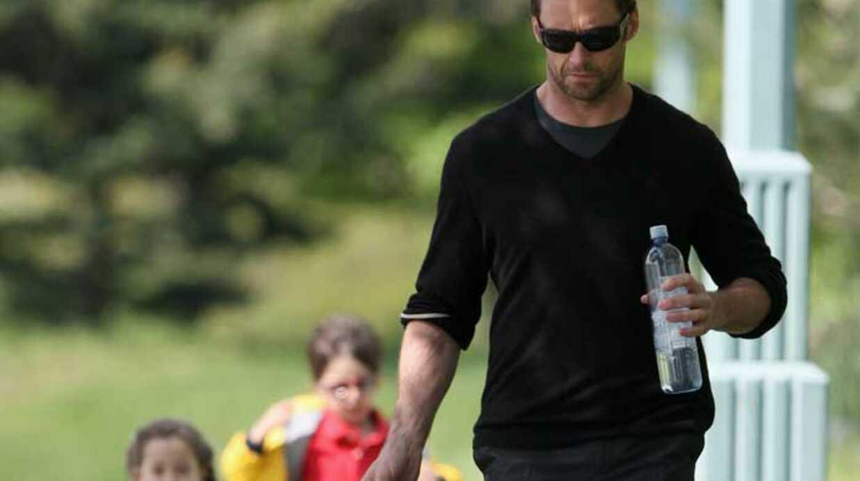 PHOTOS Hugh Jackman trop mignon avec sa fille Ava