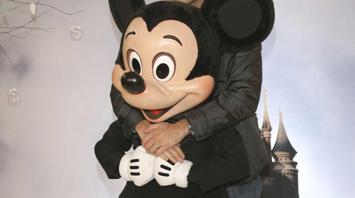 Les people à Disneyland Paris pour les célébrations de Noël
