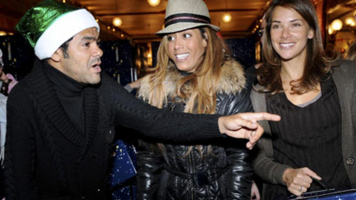 PHOTOS Jamel Debbouze et Melissa Theuriau au cirque d'Hiver