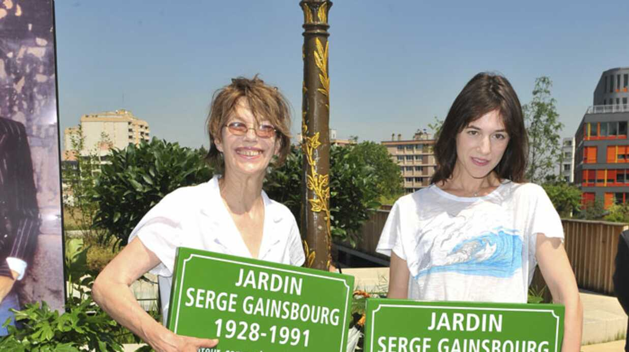 PHOTOS Jane Birkin et Charlotte inaugurent le jardin Gainsbourg