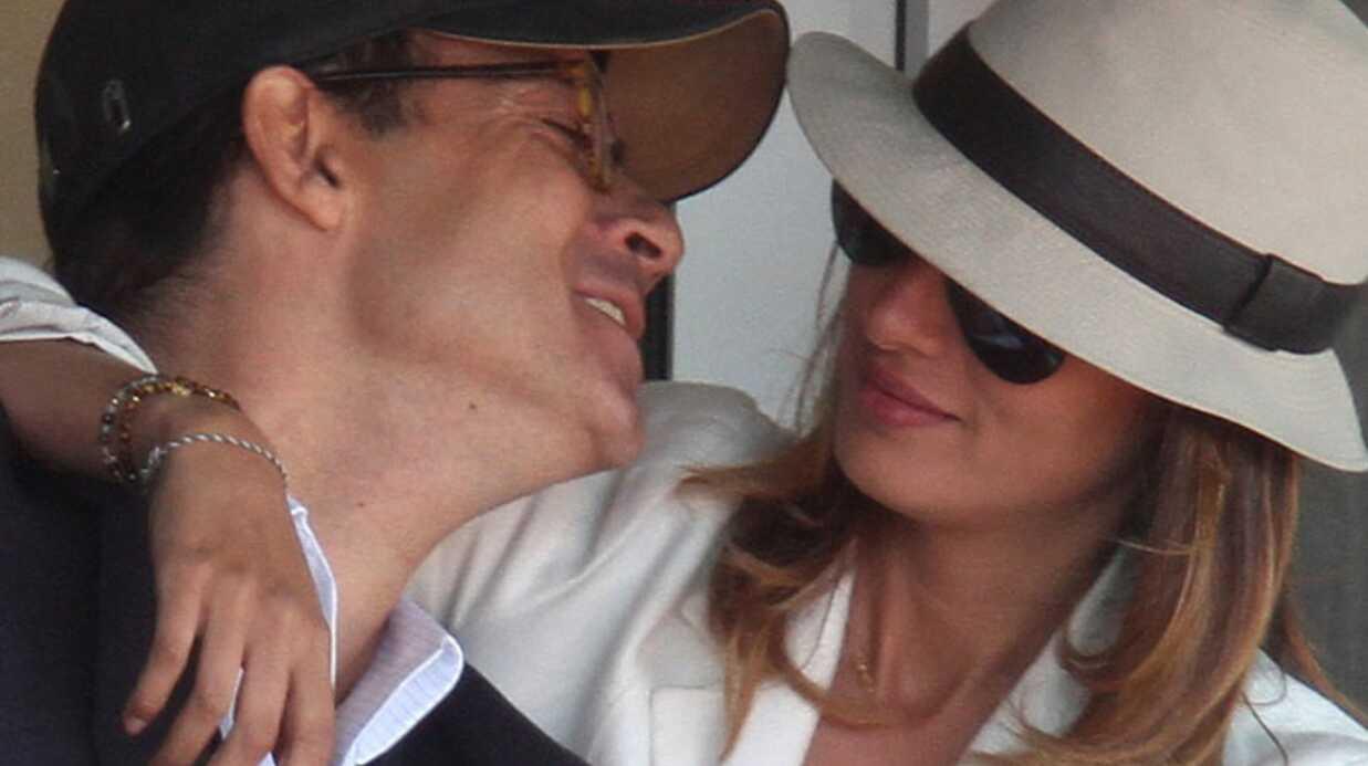 PHOTOS Jean-Luc Delarue très amoureux à Roland Garros