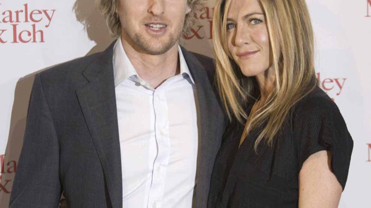 PHOTOS Jenni­fer Anis­ton et Owen Wilson en tour­née en Europe