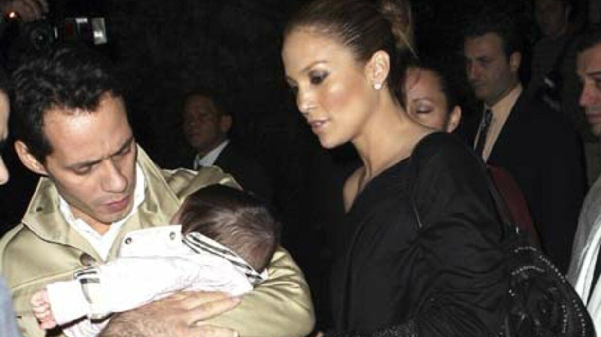 PHOTOS Jennifer Lopez et Marc Anthony, de supers nounous