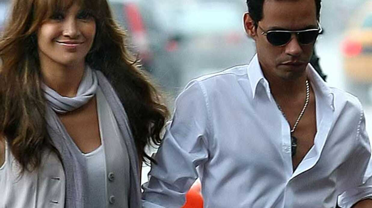 PHOTOS Marc Anthony rejoint Jenni­fer Lopez sur son tour­nage