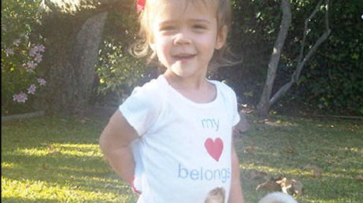 PHOTOS Jessica Alba s'amuse avec sa fille Honor sur Twitter