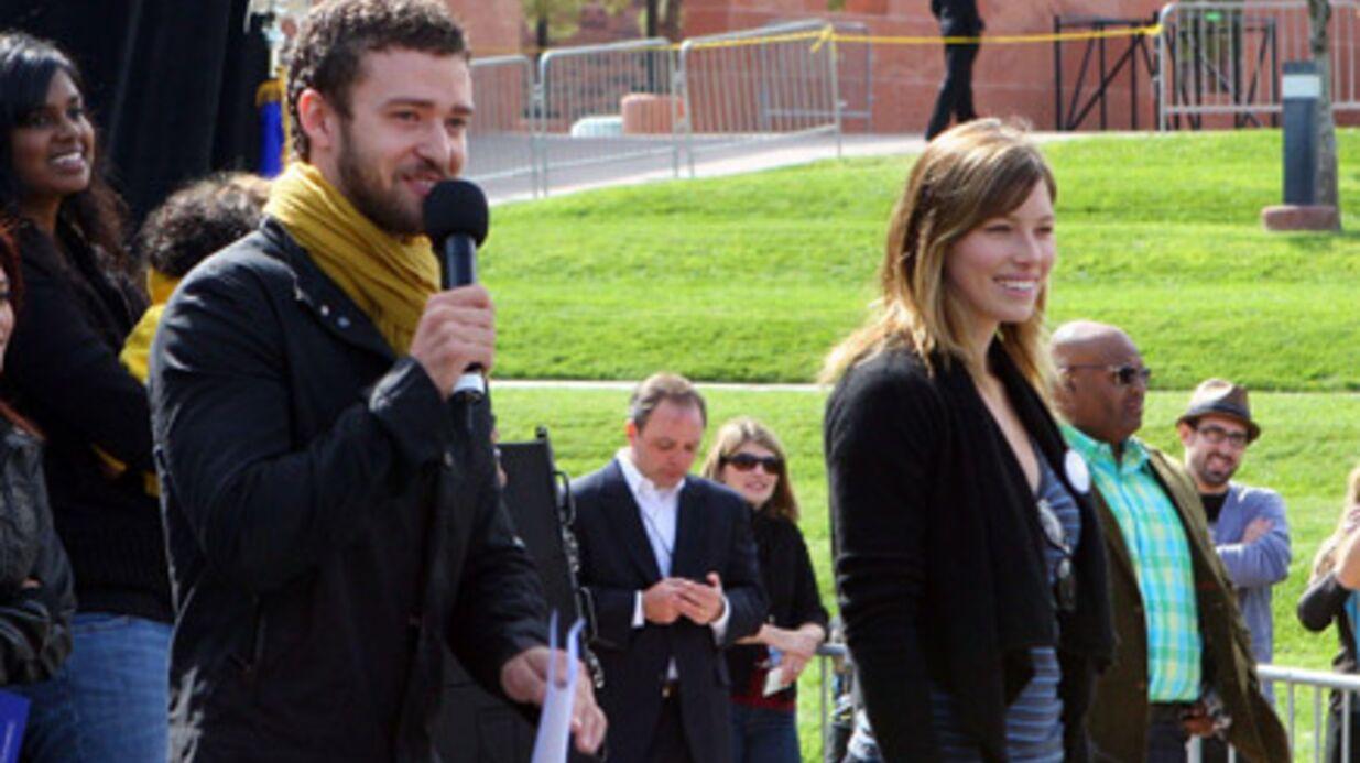 Justin Timberlake & Jessica Biel mobilisés pour Barack Obama