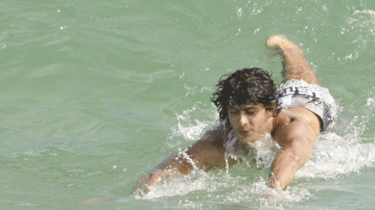 PHOTOS: Madonna: Jesus Luz l'oublie à la plage