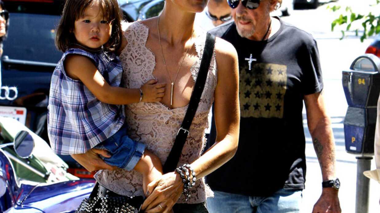 PHOTOS Johnny Hallyday heureux avec sa femme et ses filles