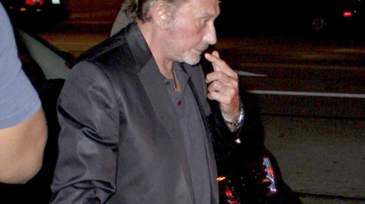 Johnny Hallyday, un papa comme les autres