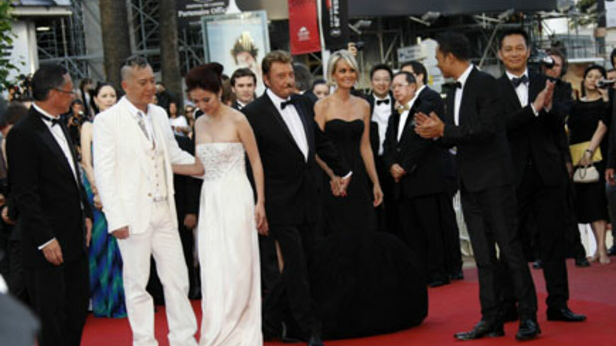 PHOTOS Johnny Hally­day : Cannes lui a déroulé le tapis rouge
