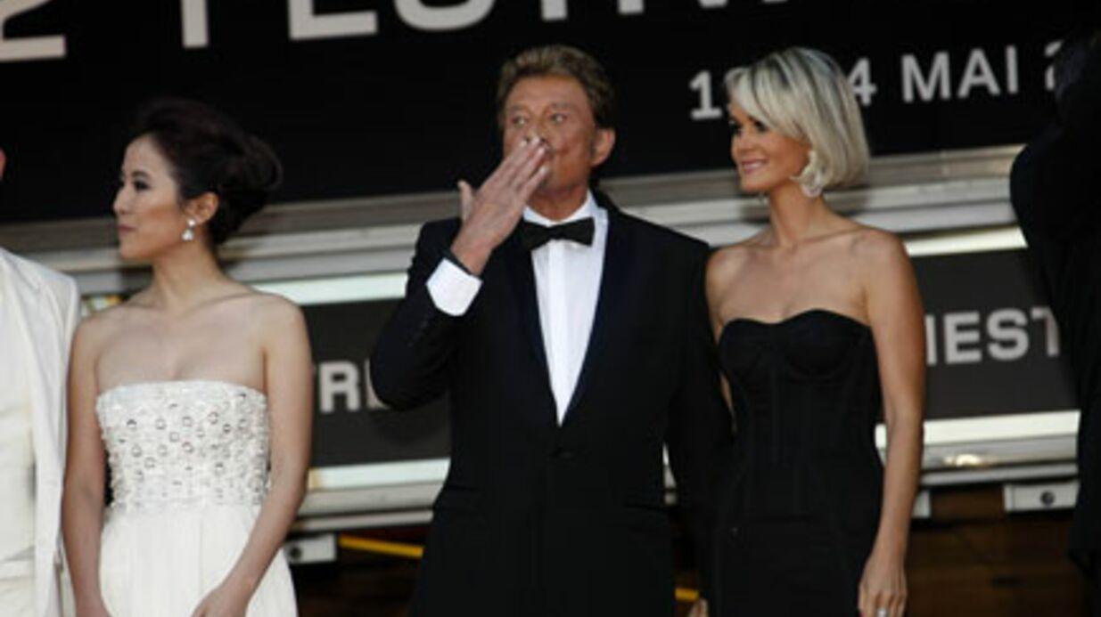 PHOTOS Johnny Hallyday: Cannes lui a déroulé le tapis rouge