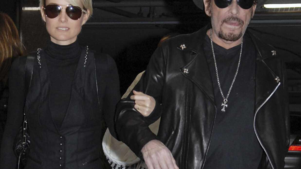 PHOTOS: première apparition publique de Johnny Hallyday