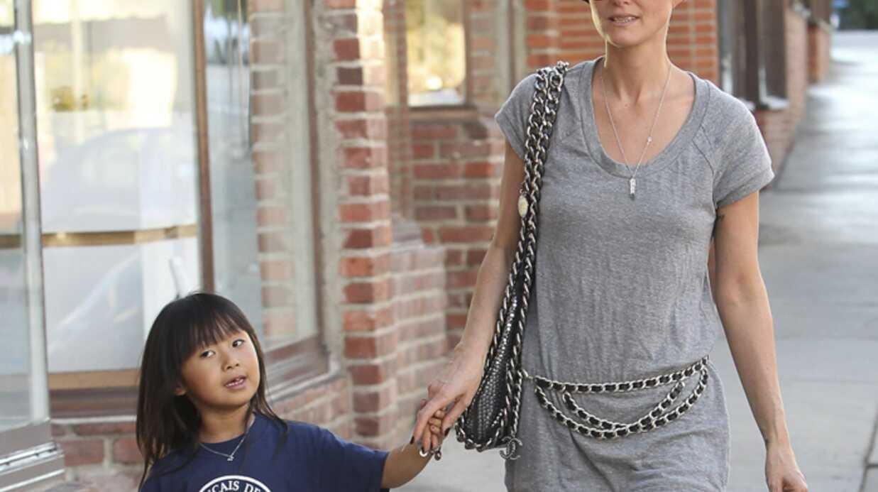 PHOTOS Laeticia Hallyday emmène Jade chez l'esthéticienne