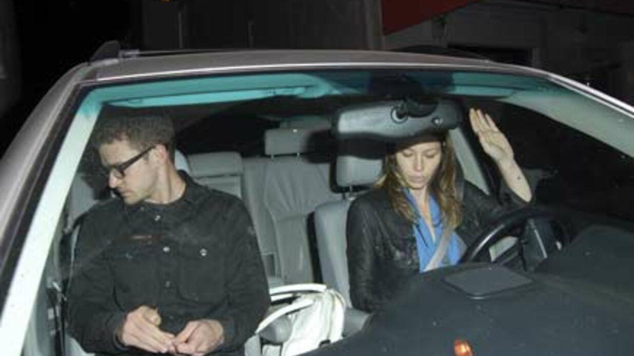 PHOTOS Justin Timberlake et Jessica Biel: entre eux, c'est pas la joie!